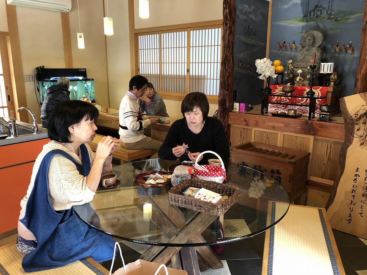 2018.1萩焼陶芸教室(興願寺ニュース)